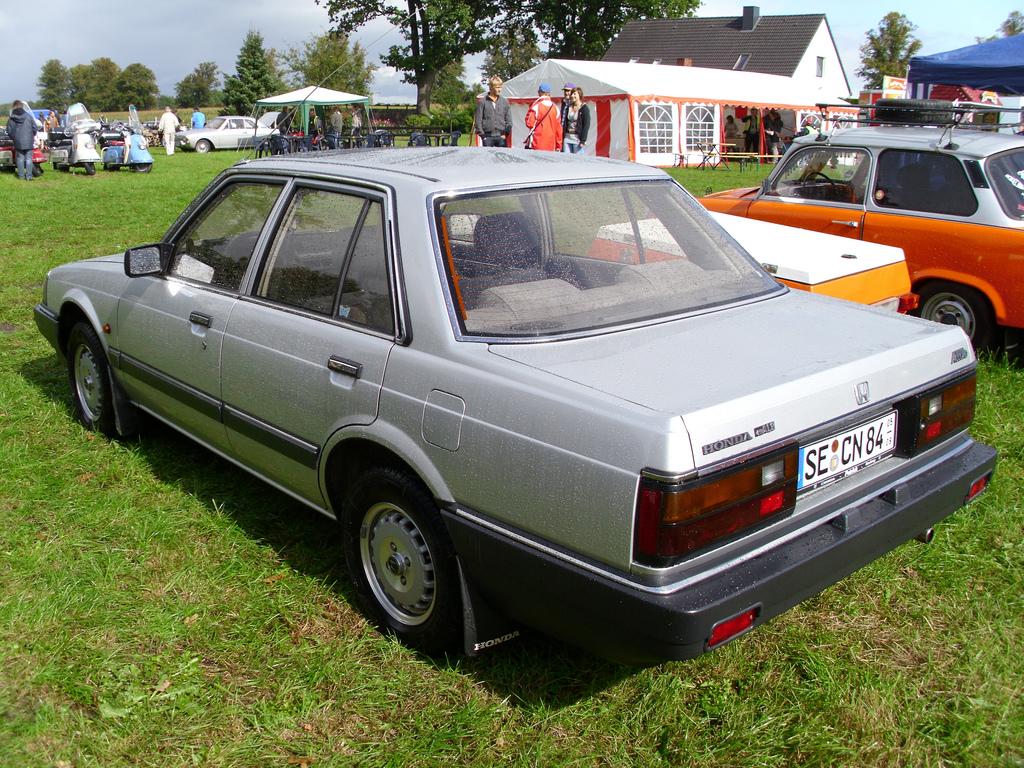 1984 Honda Accord - Partsopen