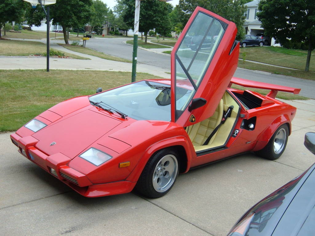 Lamborghini Countach Partsopen