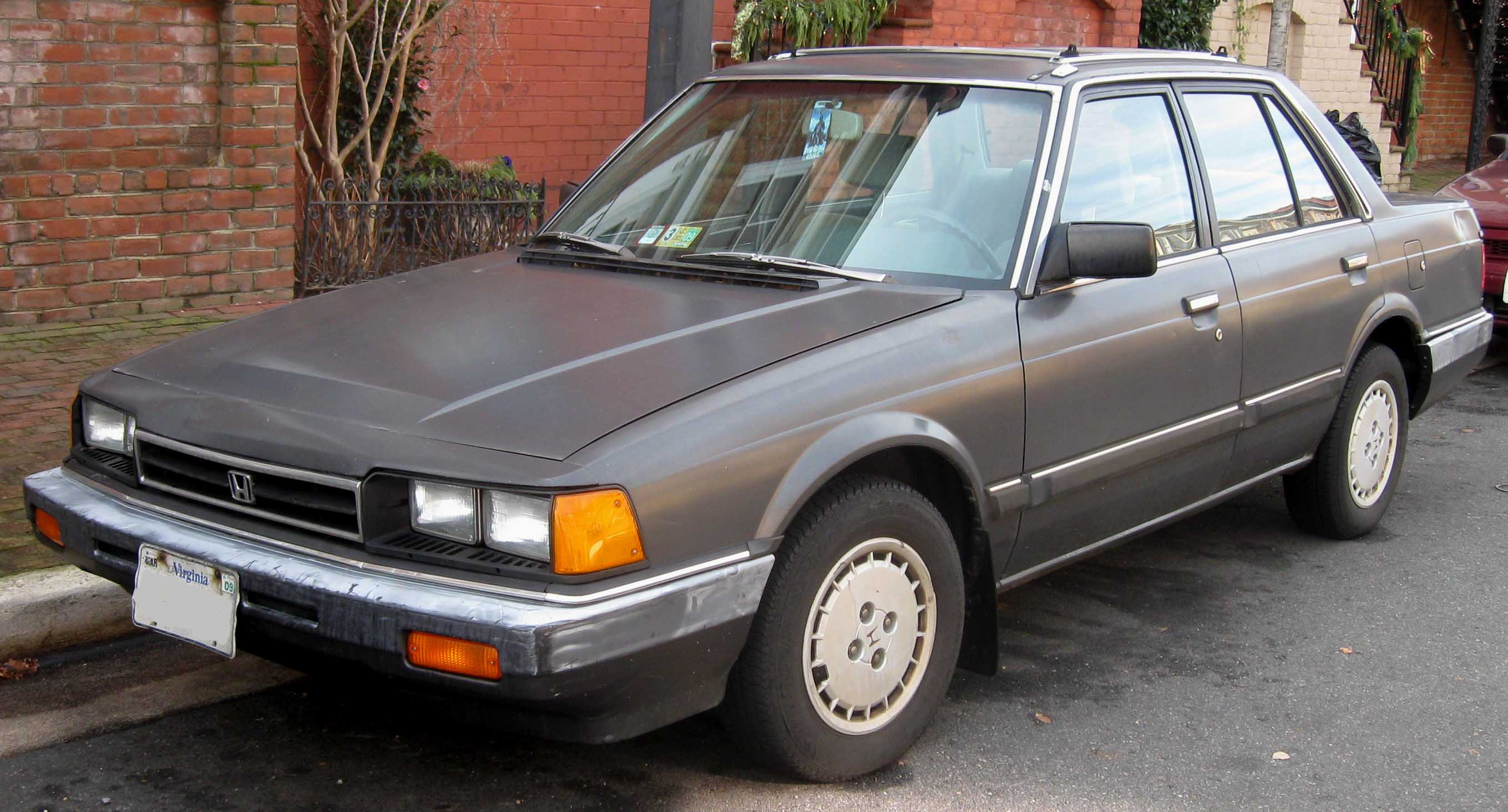 1985 Honda Accord - Partsopen