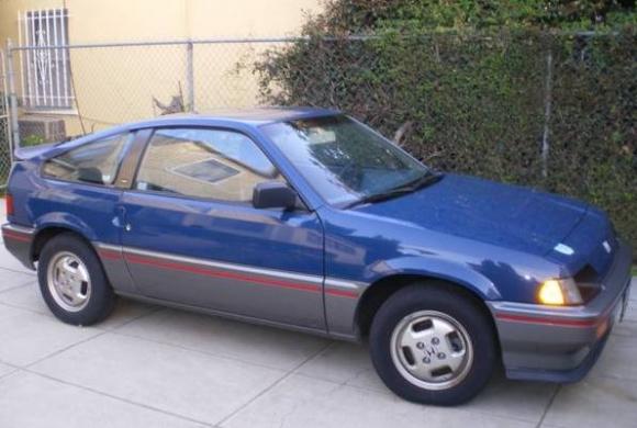 1985 Honda CRX - Partsopen