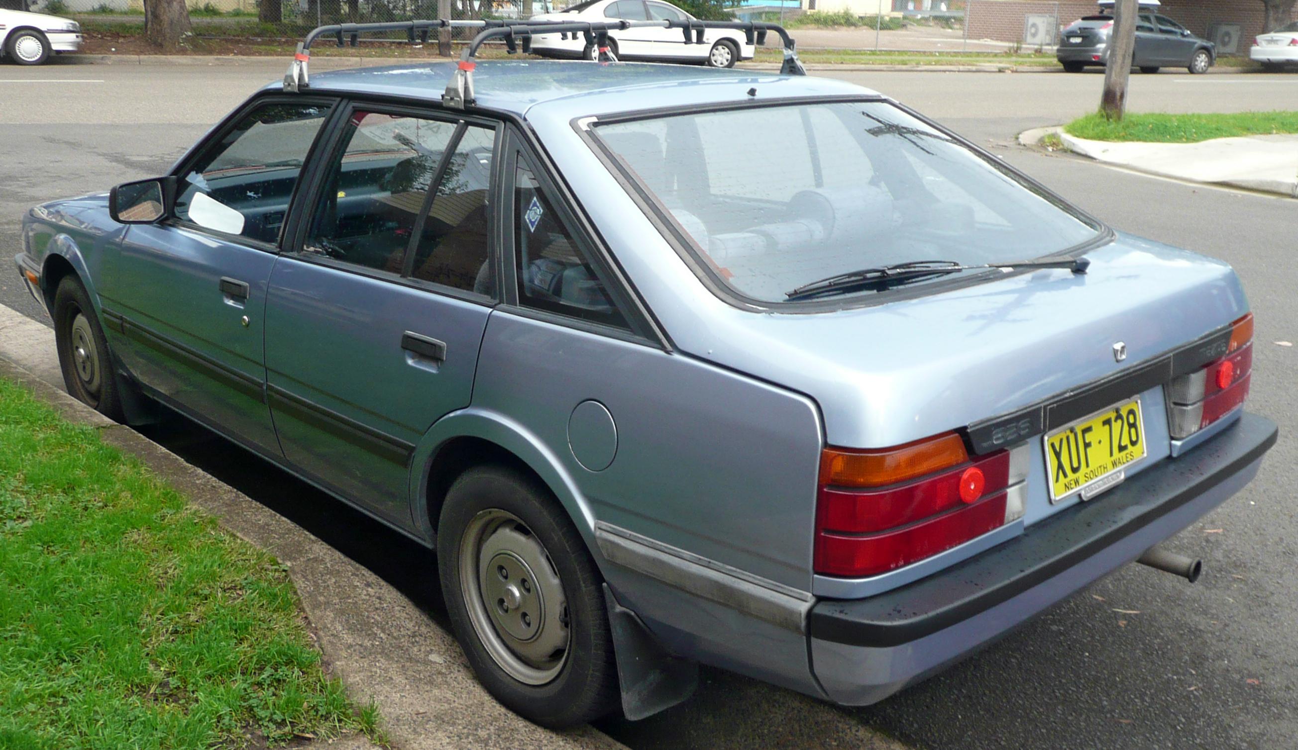 mazda 626 картинка 1985 г,в