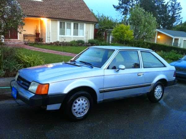 1986 ford escort photos