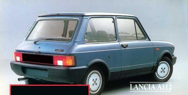 1986 Lancia A112