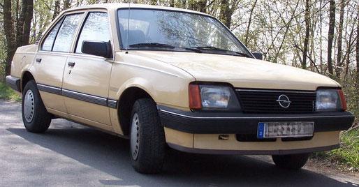 1986 Opel Ascona