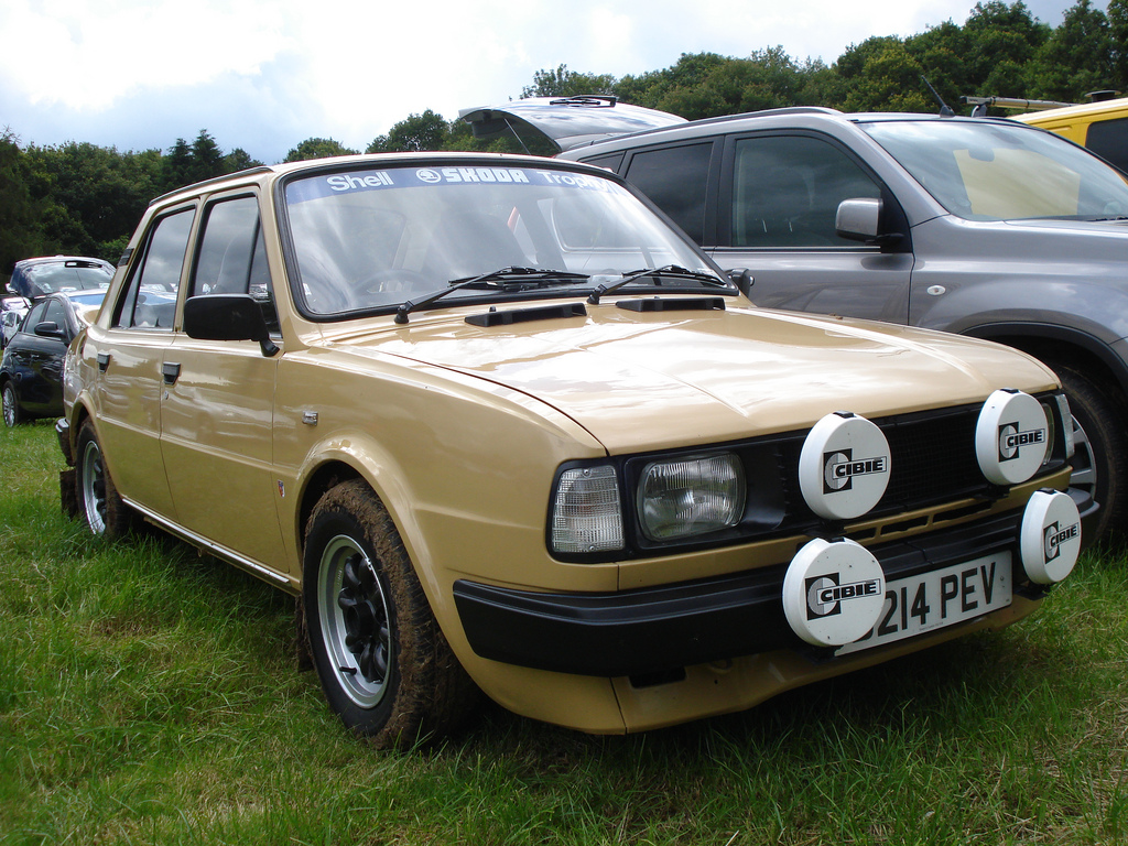 1986 Skoda 105