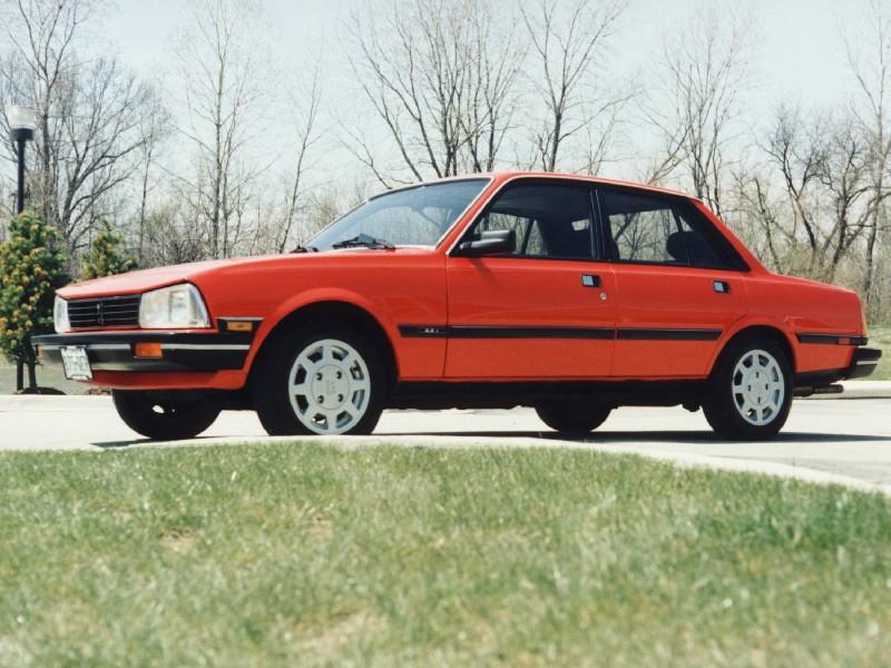 1987 Peugeot 505