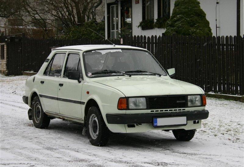 1987 Skoda 130