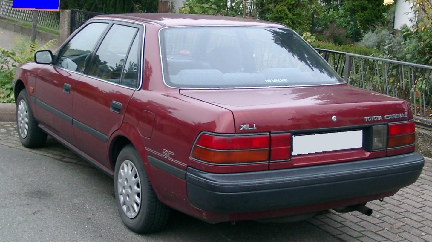 1987 Toyota Carina Ii Partsopen