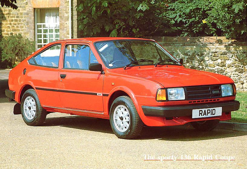 1988 Skoda 136