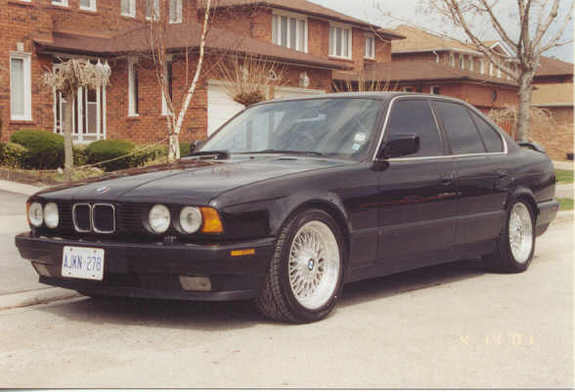 1989 Bmw 5 Series