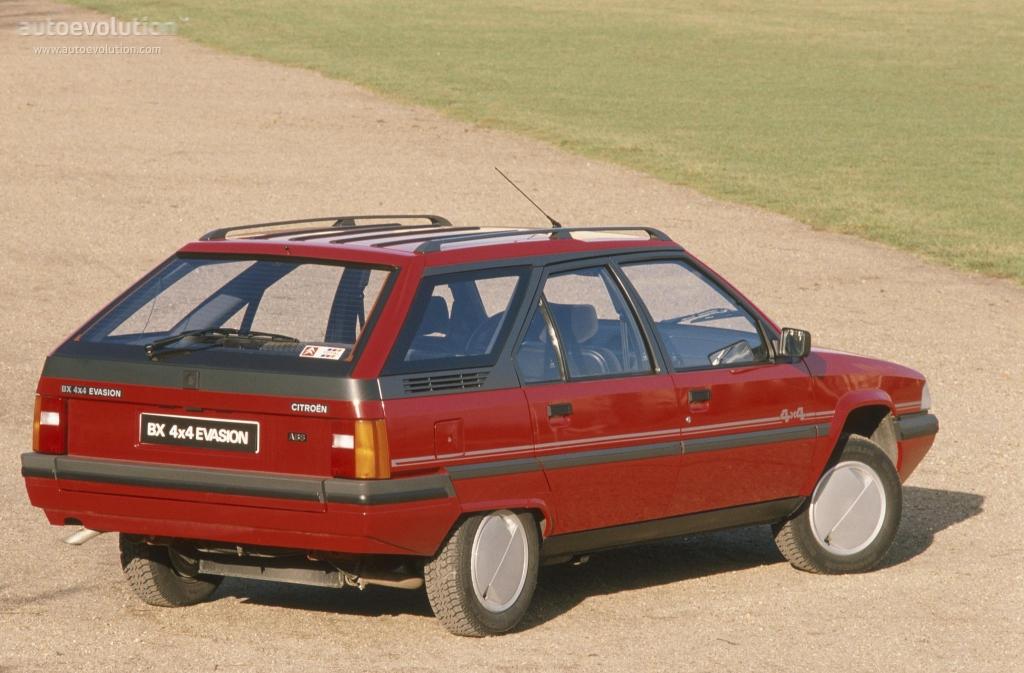 1989 Citroen BX Break