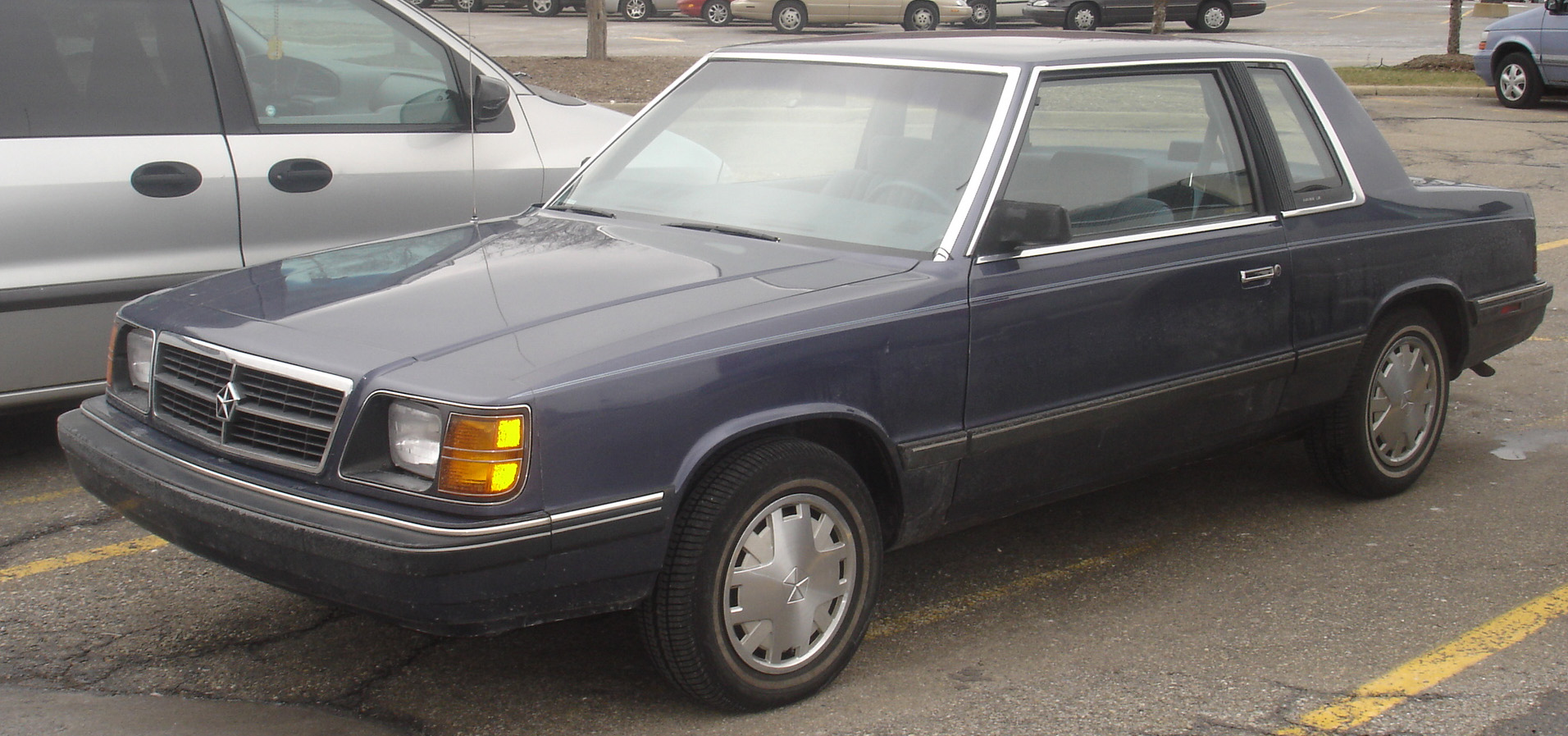 1989 Dodge Aries Coupe