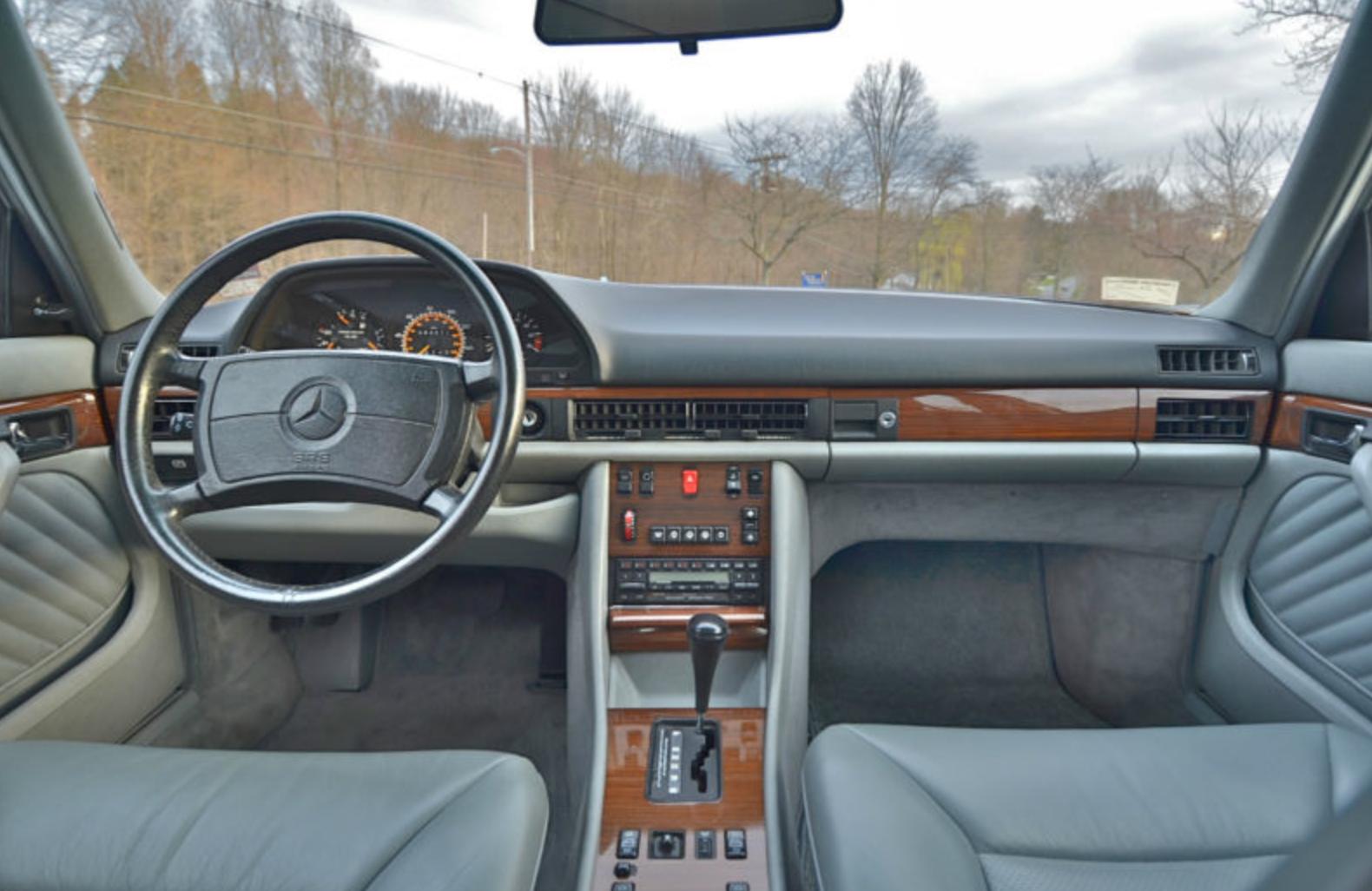 1989 Mercedes W126 Partsopen