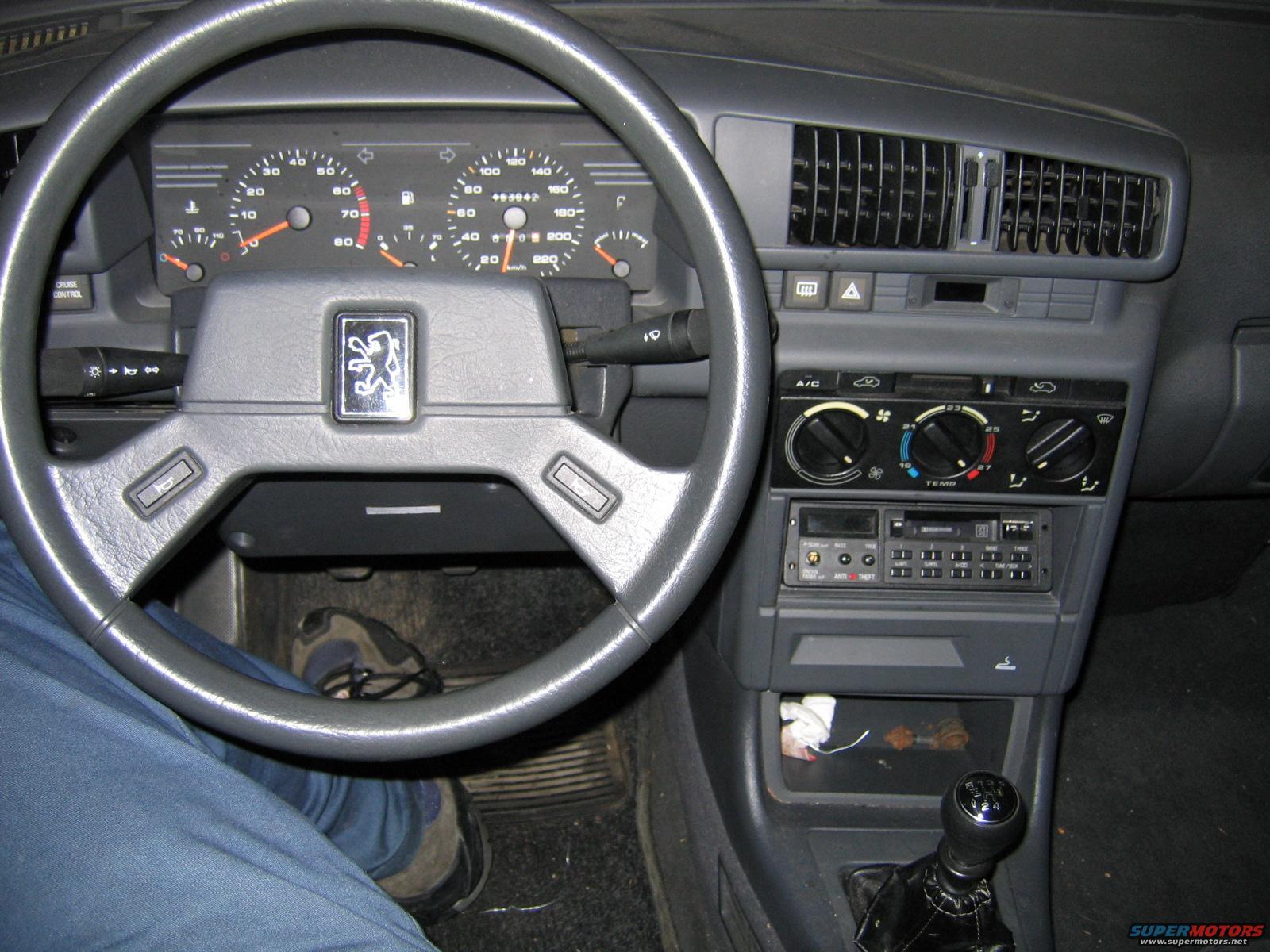 peugeot-405 1989 фото