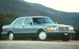 1990 Mercedes-Benz 350-Class