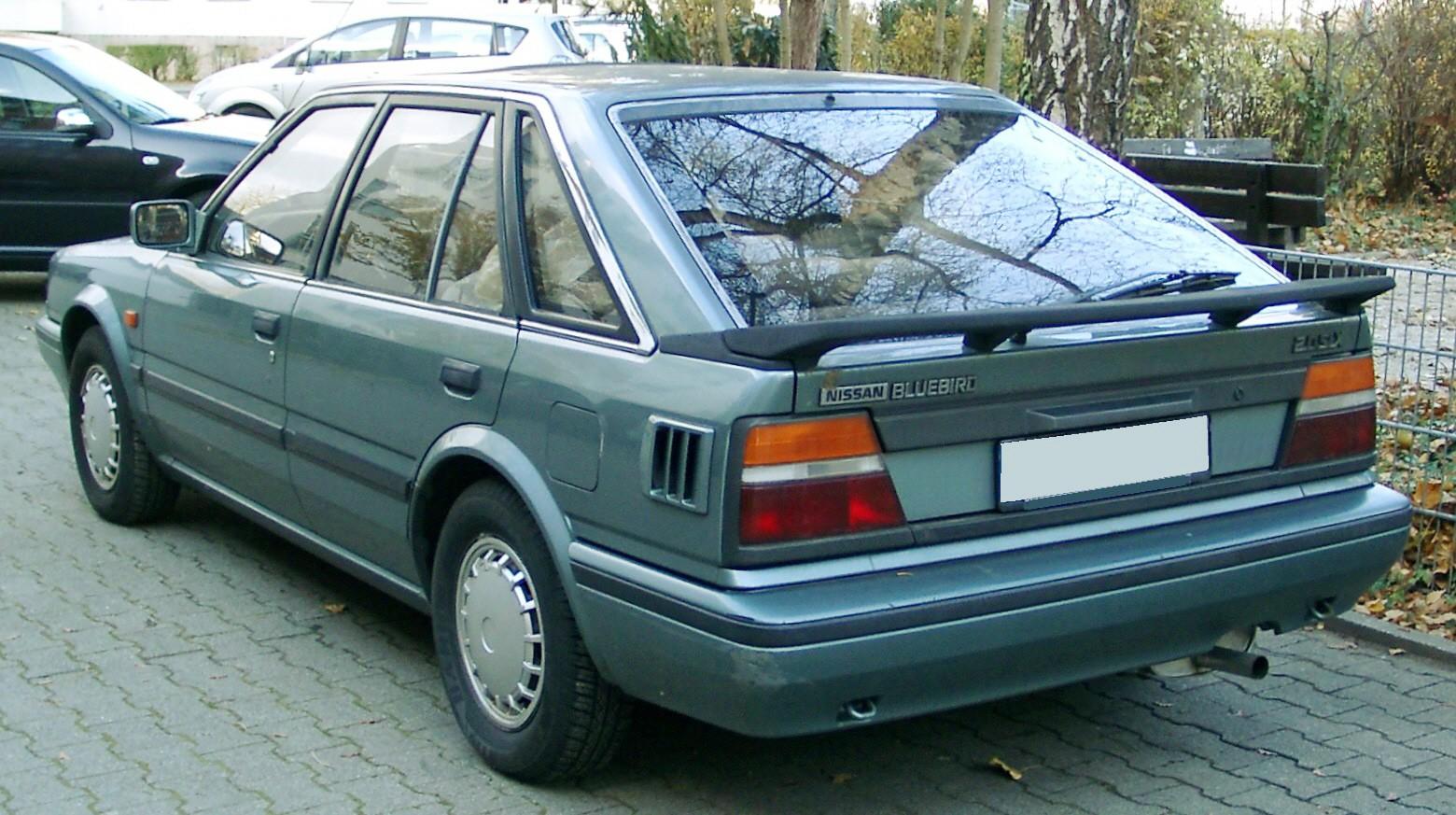 1990 Nissan Bluebird Sedan Partsopen