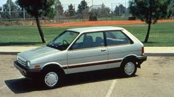 1990 Subaru Justy