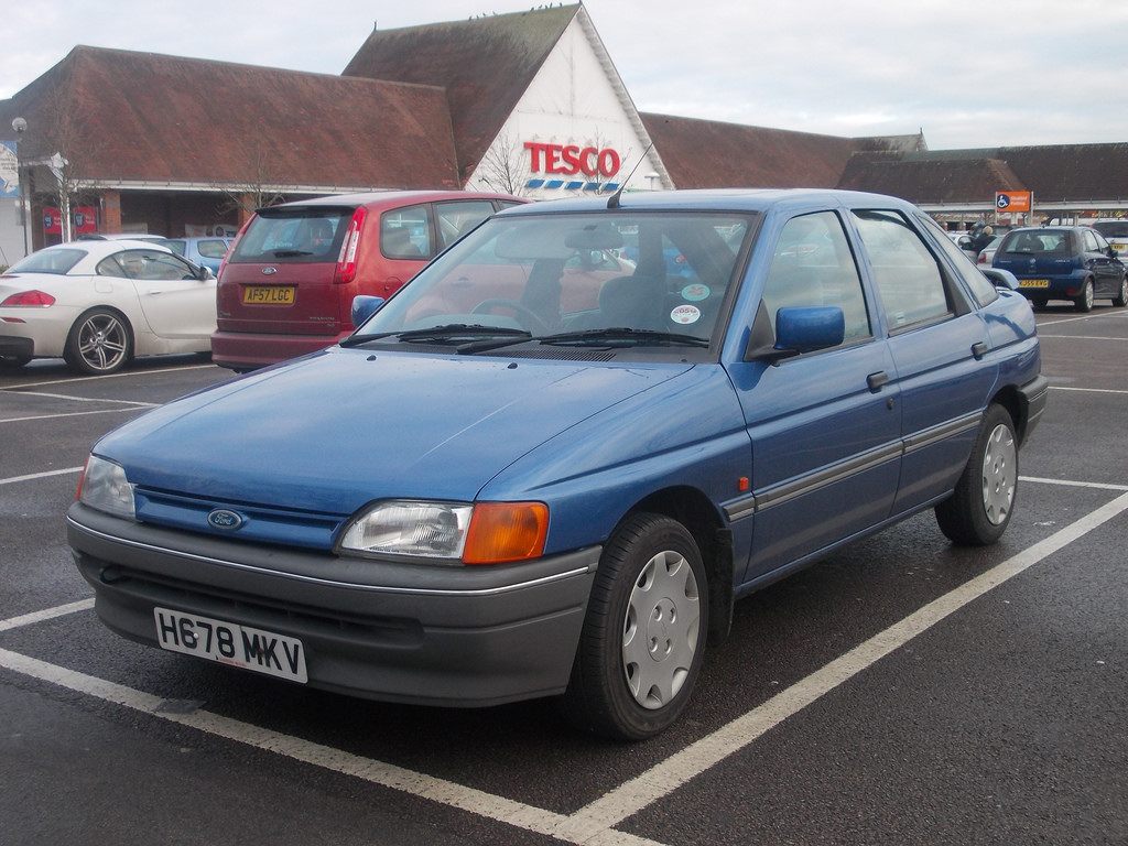 ford escort rs 1991