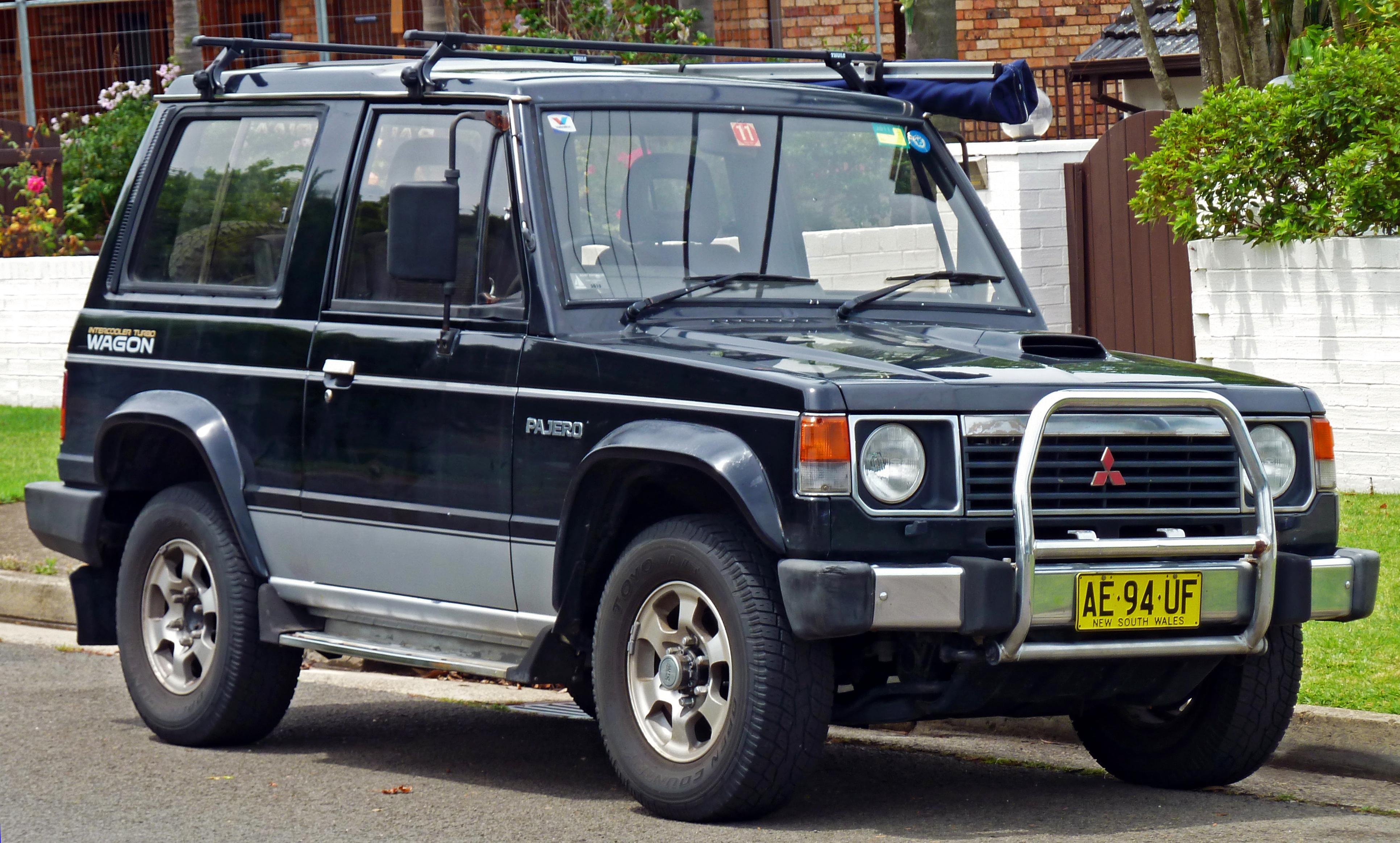 1991 Mitsubishi Pajero 5 Doors