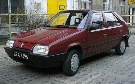 1991 Skoda Favorit