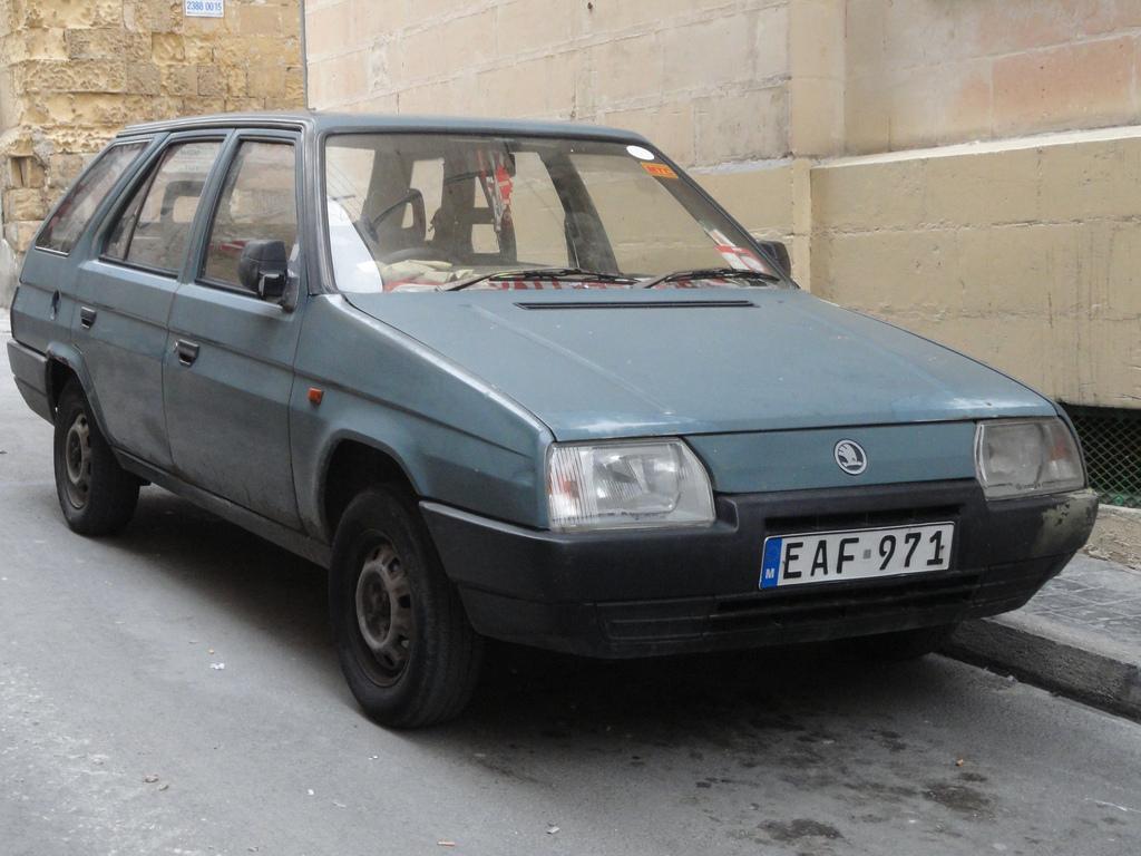 1991 Skoda Forman