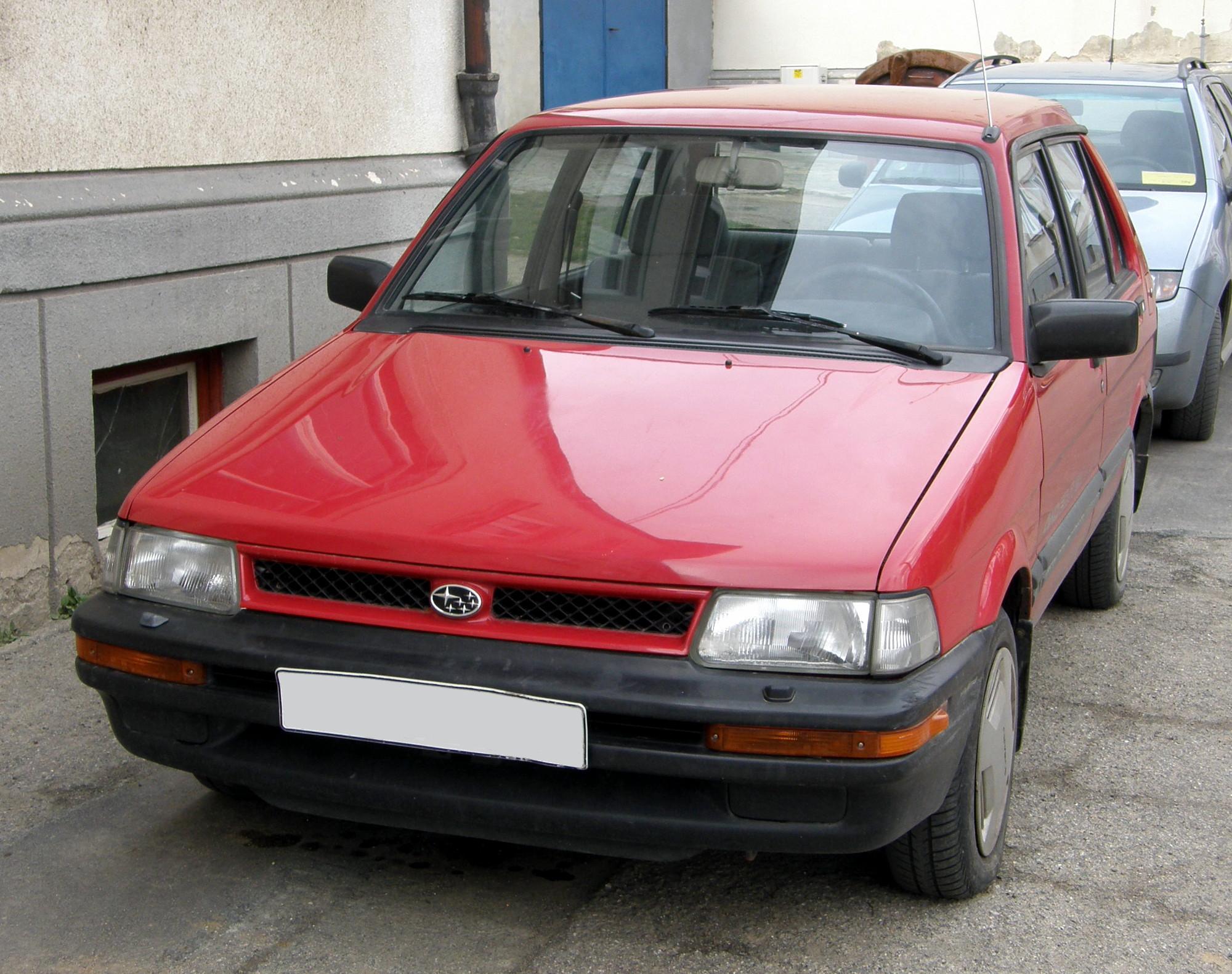 1991 Subaru Justy