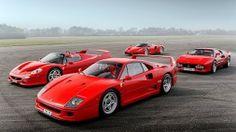 1992 Ferrari 288 GTO⁄F40⁄F50⁄Enzo
