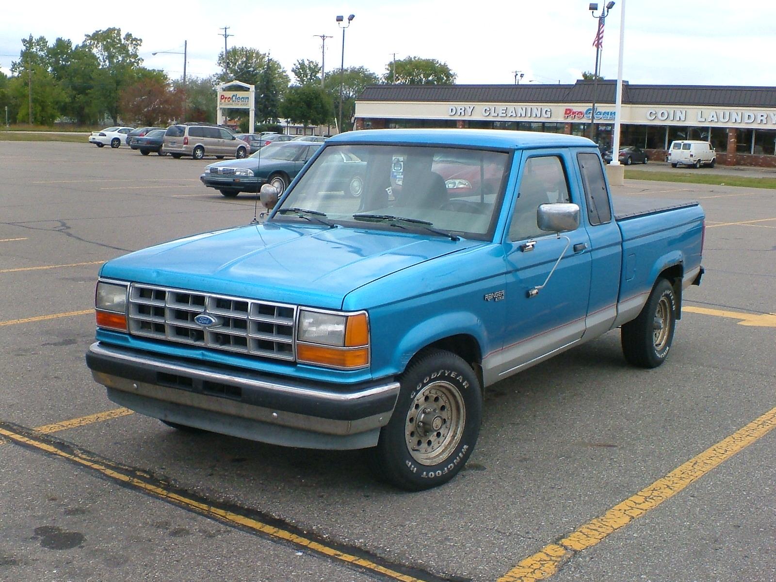 Ford Ranger on 1990 Ford Ranger Extended Cab