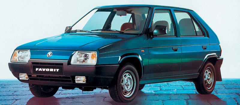 1992 Skoda Favorit