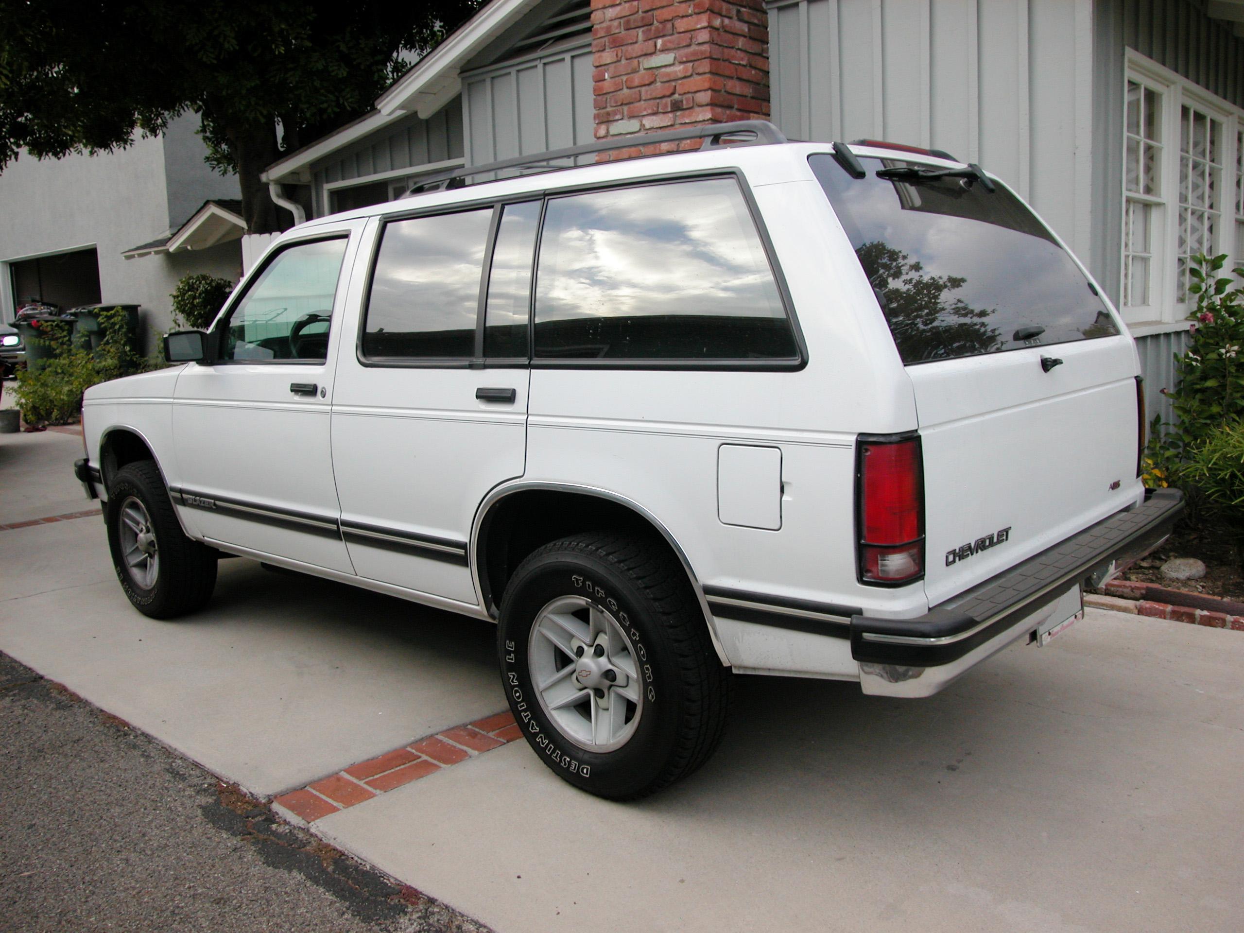 1994 Chevrolet S-10 Blazer - Partsopen