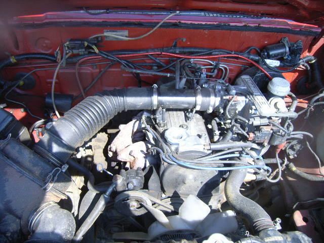 Mitsubishi Mighty Max Pickup on Mitsubishi Starion Parts