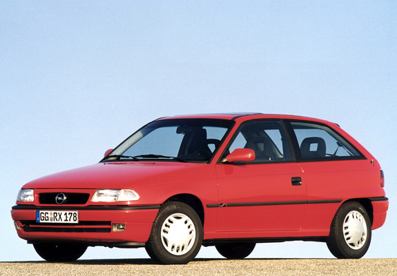 1994 Opel Astra 3 Doors