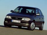 1994 Opel Astra 5 Doors