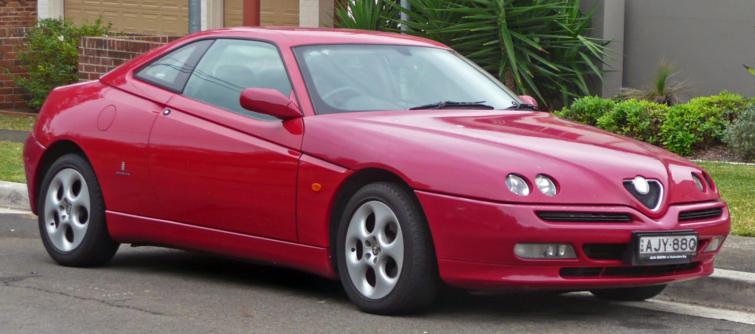 1995 alfa romeo gtv - partsopen