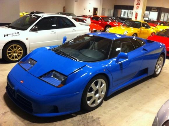 1996 bugatti eb110 - partsopen