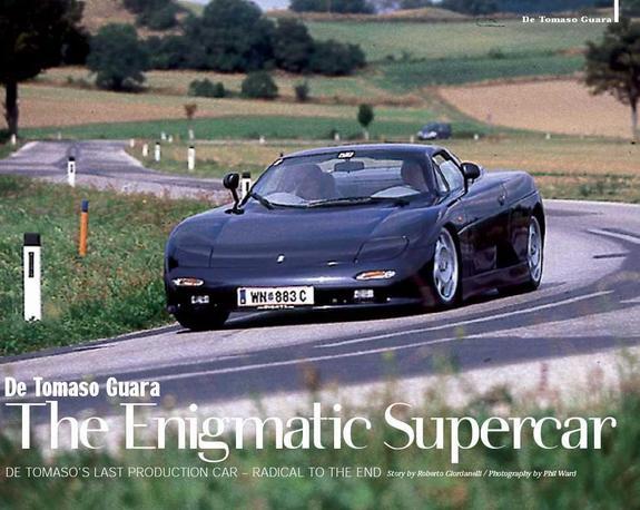 1996 De Tomaso Pantera