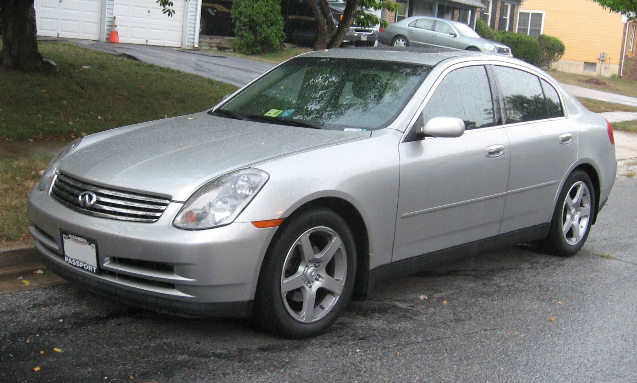 1996 Infiniti G Sedan