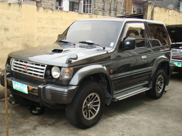Mitsubishi pajero 1997 modified