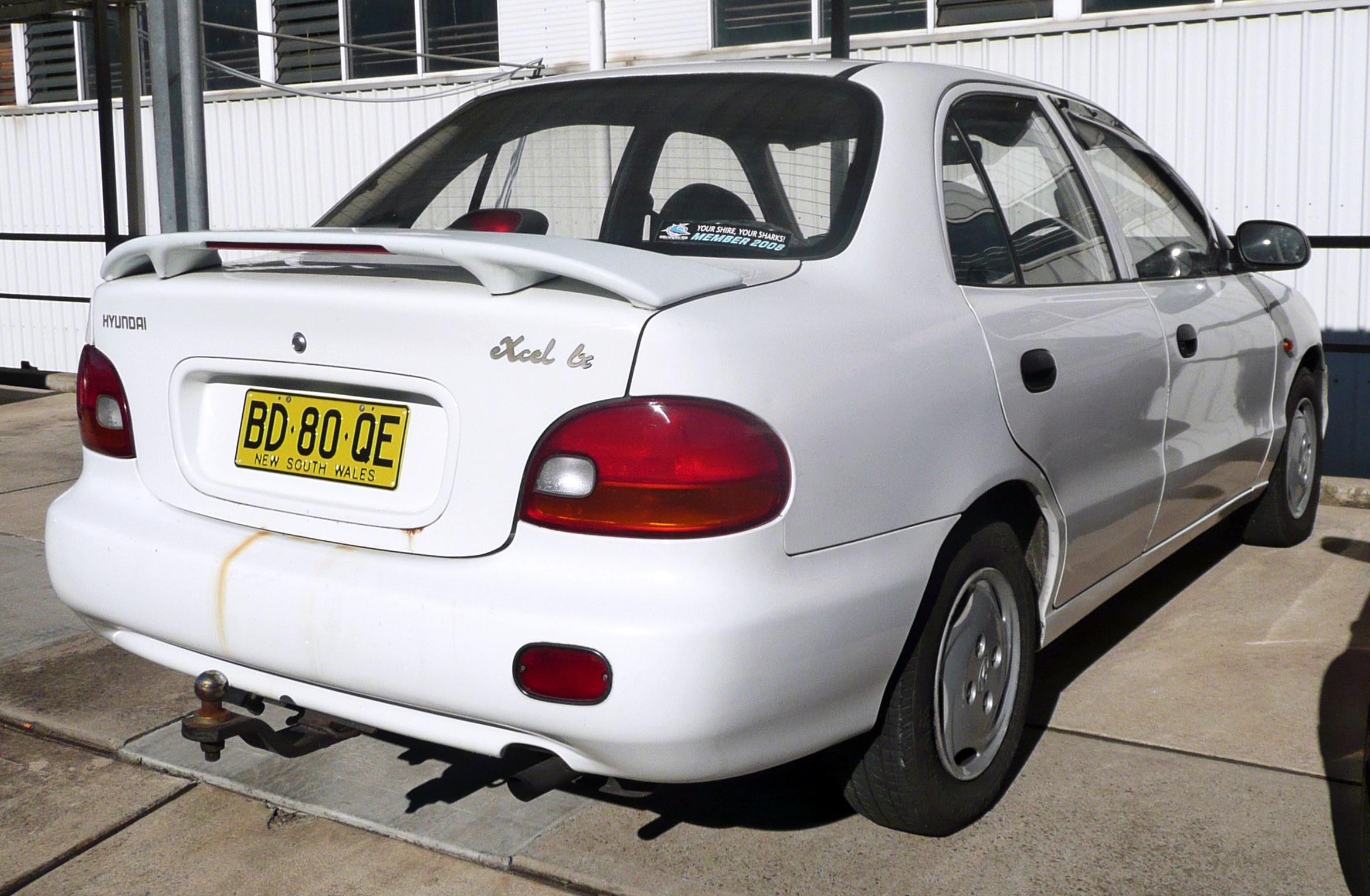 1998 Hyundai Excel Sedan