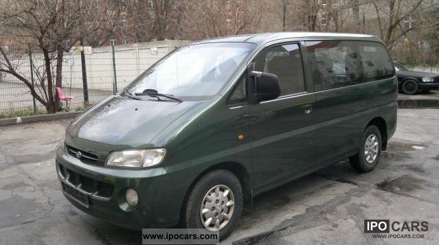 1998 Hyundai H-1 Starex