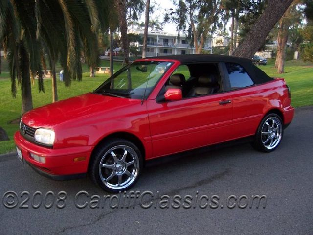 1998 Volkswagen Cabrio