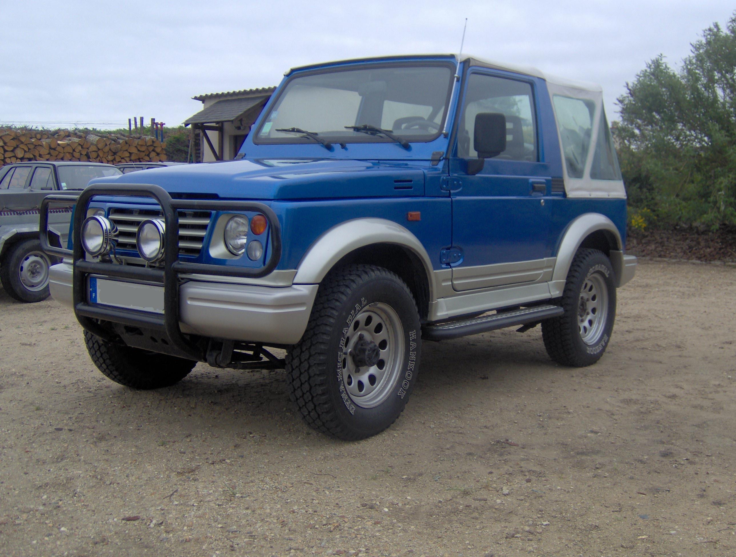 1999 Suzuki Samurai - Partsopen