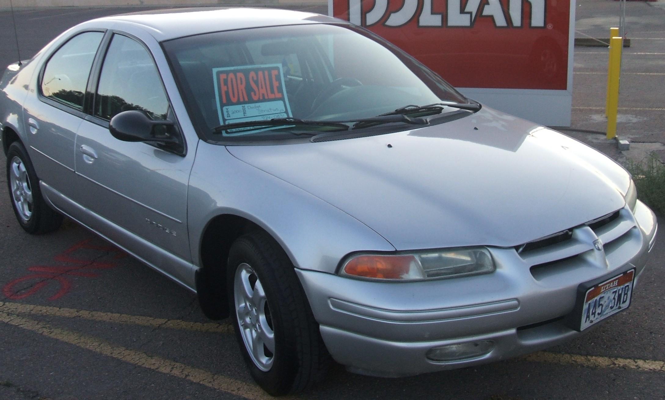 2000 Dodge Stratus Partsopen