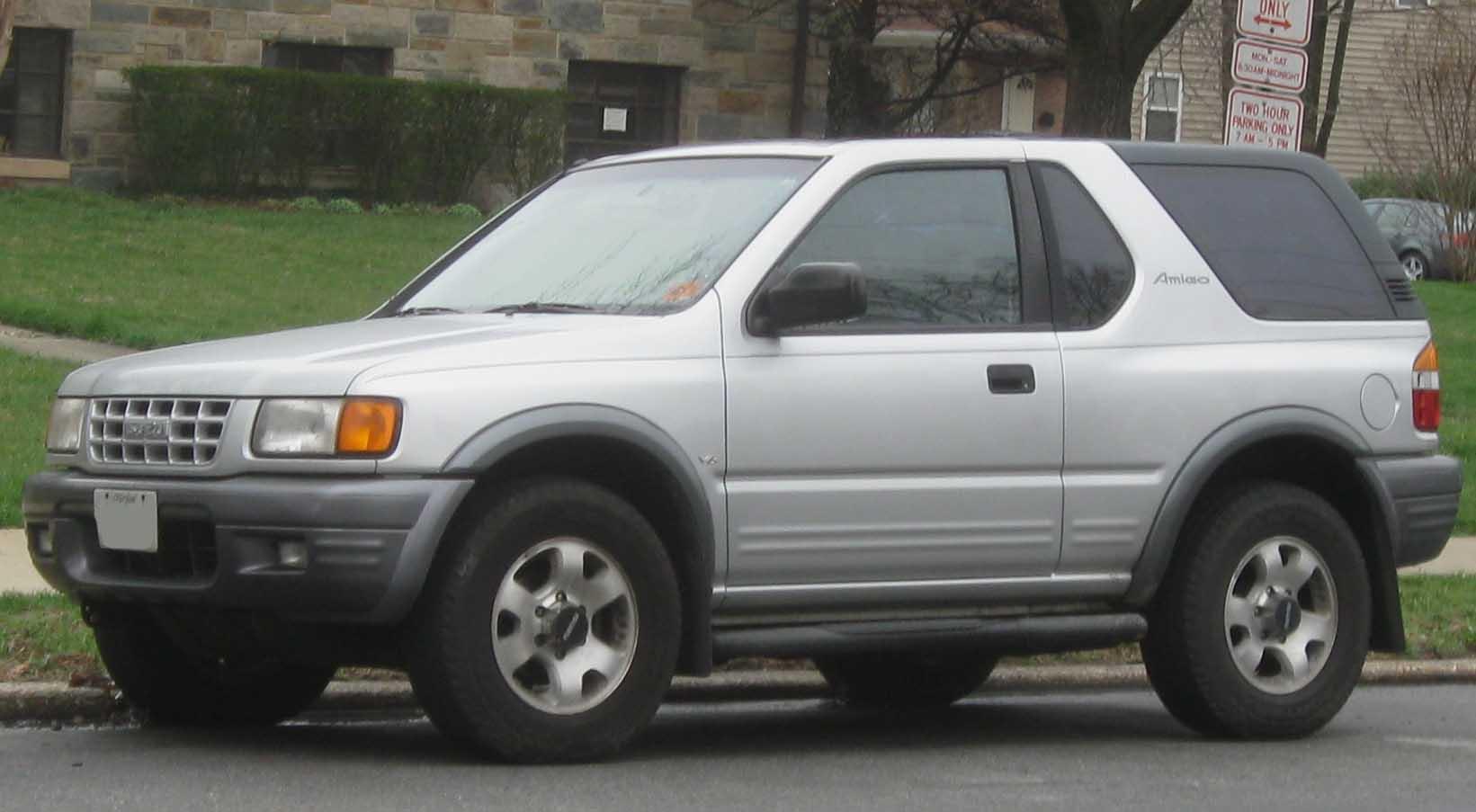 2000 Isuzu Amigo