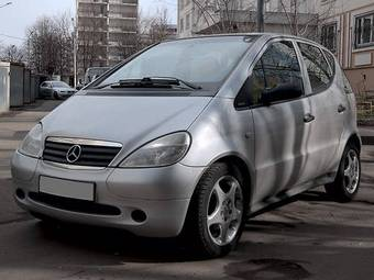 2000 Mercedes A-Class