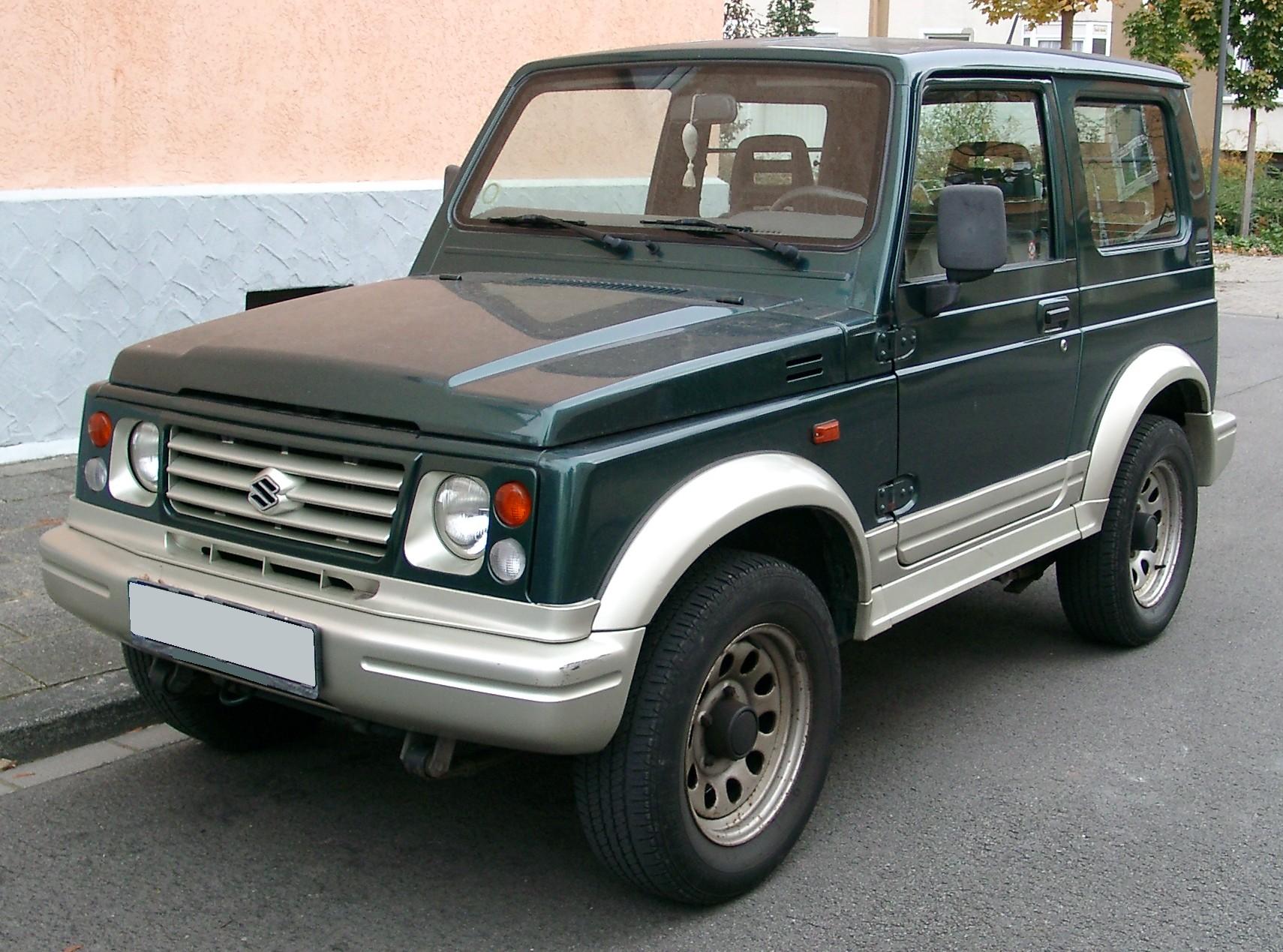 2000 Suzuki Samurai