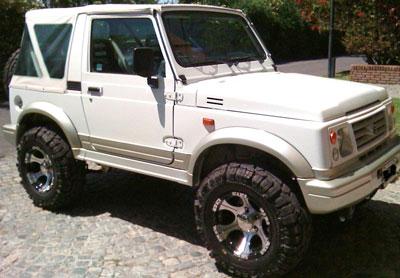 2000 Suzuki-Santana Samurai