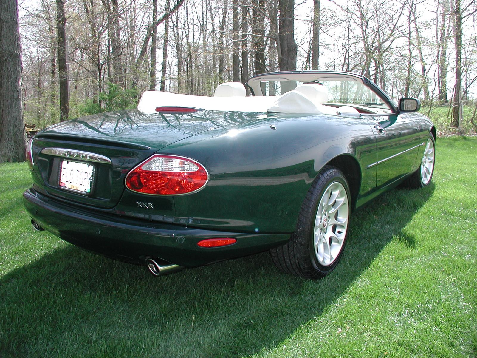 2001 Jaguar XK - Partsopen