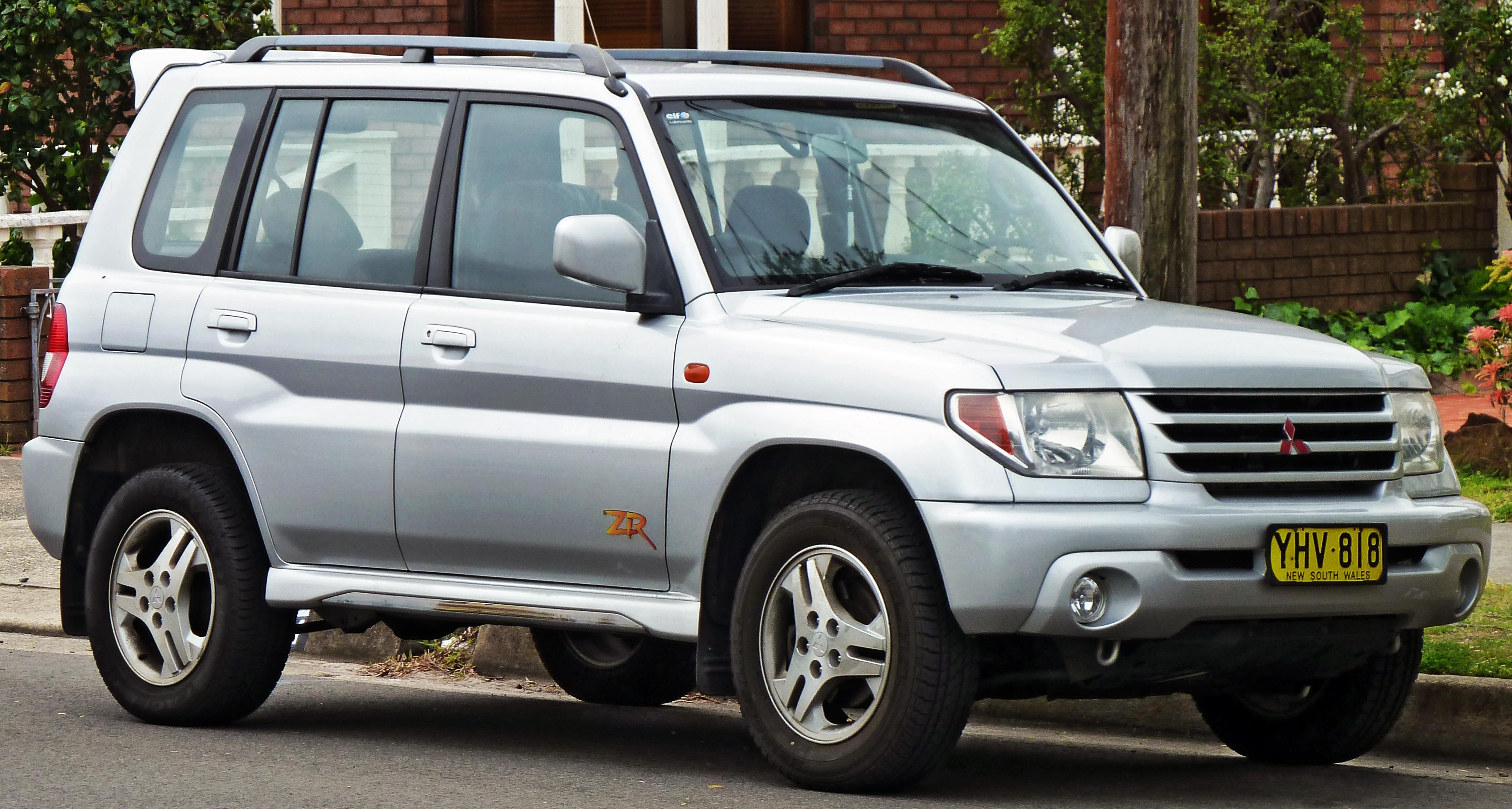 2001 Mitsubishi Pajero Pinin