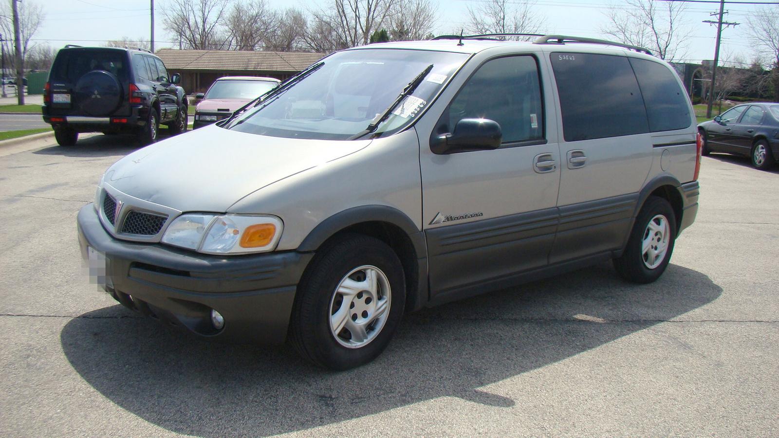 2001 Pontiac Montana - Partsopen